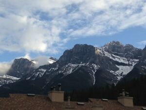 Large bedroom available now for FEMALE in condo. Canmore