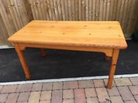 Country style beautiful mellow pine dining/ kitchen table