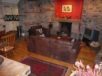 2 Bedroom House to rent, Sticklepath, Nr Okehampton, Devon with parking & shared garden