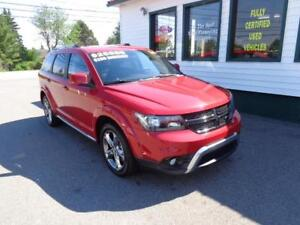 2016 Dodge Journey Crossroad AWD only $208 bi-weekly all in!