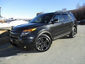 2015 Ford EXPLORER Sport (with Dual DVD & Nav)