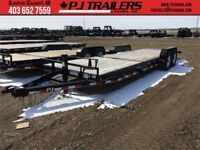 "24' x 6"" Channel Equipment PJ Tilt Trailer, 14K GVWR (T6J) Calgary Alberta Preview"