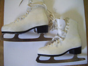 2 Pairs of Girls skates for sale in Truro...