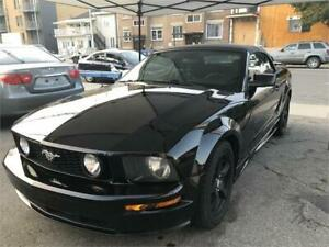 2005 MUSTANG CONVERTIBLE, LOOK GT 8880$ FINANCE MAISON 100% APP