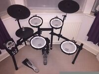 Roland TD-11KV V-Drums Electronic Kit Used, Immaculate, Boxed. With Mapex stool & kick pedal, sticks