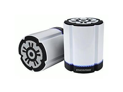 Enermax EAS02S-DW Stereotwin Wireless LED Speaker with CSR V4.0 chipset White