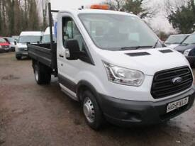 2015 Ford Transit SINGLE CAB TIPPER NO VAT 30000 MILES GUARANTEED