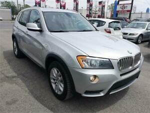 2011 BMW X3 28i, AUTO, AWD, CUIR, TOIT PANO, BLURTOOTH, 3.0L