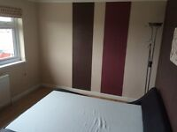 Large double bedroom in spacious 3 bedroom house