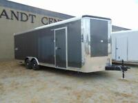 2016 Mirage 8.5X24 V-Nose Cargo & Toy Hauler w. Ramp