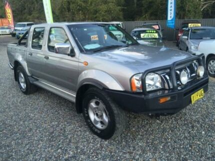 2004 Nissan Navara D22 ST-R (4x4) Silver 5 Speed Manual Dual Cab Pick-up Jewells Lake Macquarie Area Preview