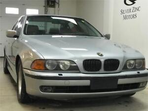 1997 BMW 540i, NEW BATTERY AND TIRE, Clean Carproof History