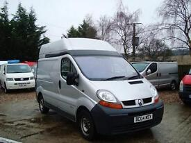 2004 RENAULT TRAFIC 1.9 TD DCI SH29 SWB High Roof Panel Van NO VAT AIR CON
