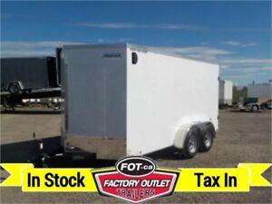 """7 X 14 VG-3000 Series Cargo Trailer w/Barn Door & +6"""""""