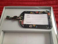 Brand New Cath Kidston Luggage Tag