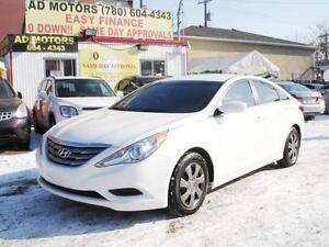 """SALE"" 2013 HYUNDAI SONATA GLS AUTO REMOTE START 100% FINANCING"