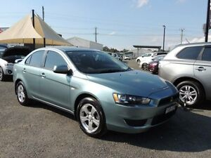 2010 Mitsubishi Lancer CJ MY10 ES Blue 5 Speed Manual Sedan South Nowra Nowra-Bomaderry Preview