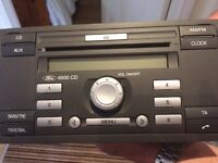 Ford Focus 6000 CD Radio Player
