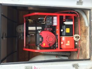 Hotsy Pressure Washer with 130 hours and Trailer London Ontario image 1