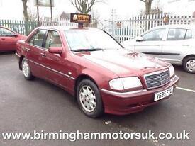 1999 (V Reg) Mercedes C Class C 230 KOMPRESSOR ELEGANCE 4DR Saloon RED