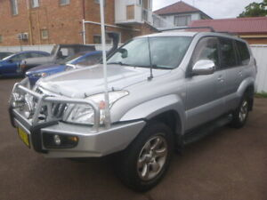 2004 TOYOTA LANDCRUISER PRADO GXL,(4x4)V6 PETROL,AUTO,HEAPS OF EXTRAS Belmont Lake Macquarie Area Preview