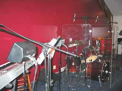 Drum Shield/Drum Screen Panels 5 Panels 2ftX5ft