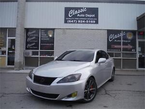 2006 LEXUS IS350 ** AUTOMATIC ** PADDLE SHIFTERS ** LEATHER **