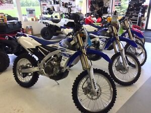 YAMAHA WR 250 FF 1 ONLY --- BLOWING IT OUT