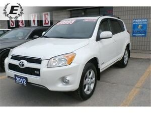 2012 Toyota RAV4 Limited 4X4 LEATHER, SUNROOF, NAV, V6