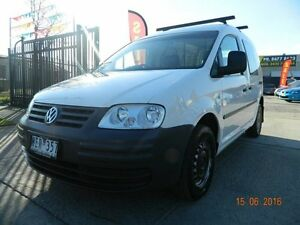 2007 Volkswagen Caddy 2K Wagon Life SWB White Automatic Panel Van Williamstown North Hobsons Bay Area Preview