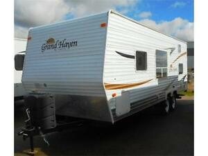 2007 GRAND HAVEN 22 BH - TRAVEL TRAILER - BUNKS & VALUE!!