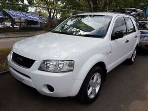 2005 Ford Territory SX TS (4x4) White 4 Speed Auto Seq Sportshift Wagon Campbelltown Campbelltown Area Preview