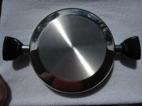 "Saladmaster 11 1/2""  Dome lid top Stainless Steel"
