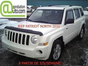 2010 Jeep Patriot Sport, À PARTIR DE 37$/SEM. 100% APPROUVÉ!