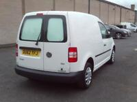 Volkswagen Caddy 1.6TDI 75PS VAN EURO 5 DIESEL MANUAL WHITE (2012)