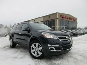 2016 Chevrolet Traverse 1LT AWD, ROOF, HTD. SEATS, 16K!
