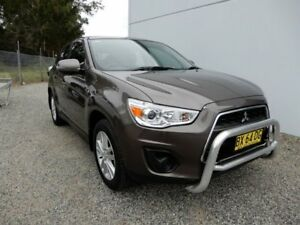 2013 Mitsubishi ASX XB MY13 2WD Bronze 6 Speed Constant Variable Wagon