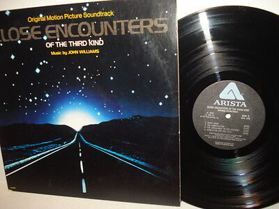John Williams Close Encounters of The Third Kind - Soundtrack - 1977, LP Record