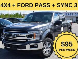 2019 Ford F-150 XLT|4x4|$95/WK SCREW|CAM|STOP/START|FORD PASS