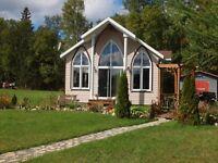 Magnifique chalet et domaine de 40 actes au Lac-St-Jean