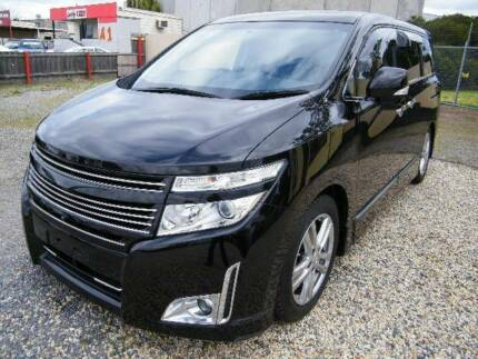 2011 Nissan Elgrand (#3694) 2.5L (3694) Black 8 Seater Moorabbin Kingston Area Preview