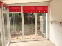 Great lean to full height conservatory/ green house