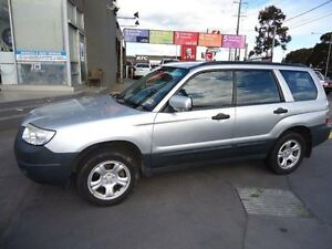 2006 Subaru Forester MY07 X Silver 5 Speed Manual Wagon Parkdale Kingston Area Preview