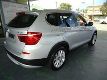 2012 BMW X3 F25 xDrive 30D Silver 8 Speed Automatic Wagon Hamilton Newcastle Area Preview