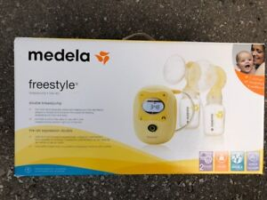 Medela Freestyle Double Electric Breast Pump Like NEW!