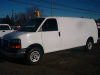 LONG WHEEL BASE CARGO VAN 2008 GMC Savana  Van