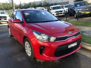 2018 Kia Rio YB MY18 S Red 4 Speed Automatic Hatchback North Strathfield Canada Bay Area Preview