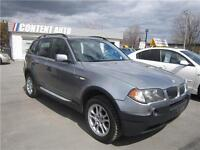 2004 BMW X3 2,5i cuir 4x4  toit  ouvrant panora mags 166000km