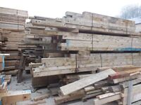 RECLAIMED TIMBER 9x2 and 5x4 DERBY JOIST TIMBER