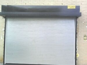 Insulated roll up overhead garage door 12 feet wide x 12 for 10 x 8 garage door price